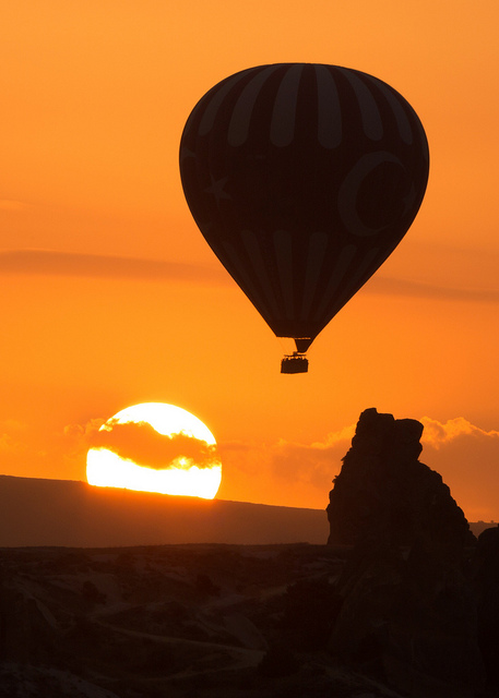 Göreme Balloon at Sunrise