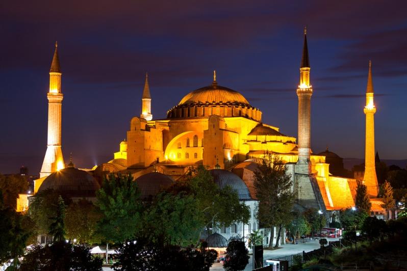 Hagia Sophia Blue Hour