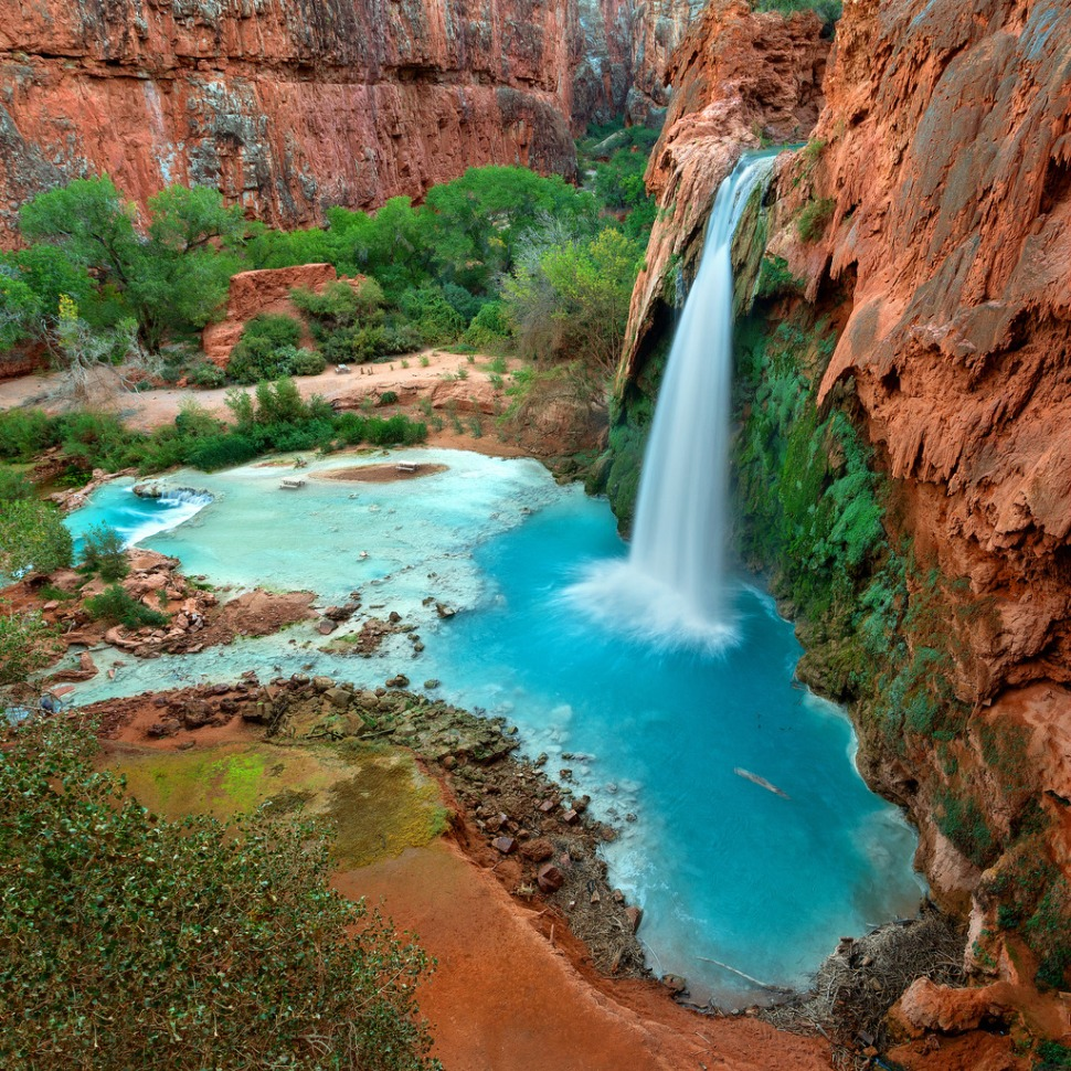 Havasu Falls from Above