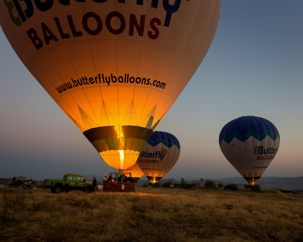 Inflating the Balloons at Dawn