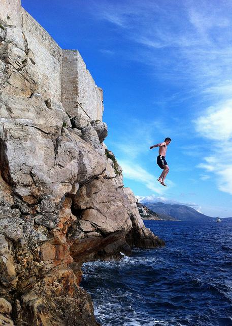 jumping-from-dubrovnik-rocks