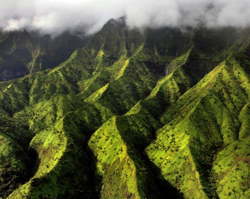 Kauai Wilderness from the Air