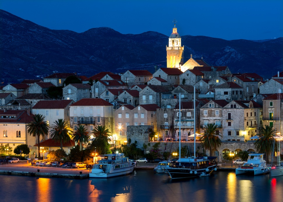 korcula-at-night