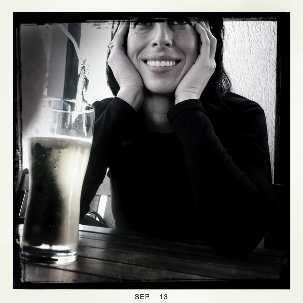 marie-having-a-beer-in-croatia