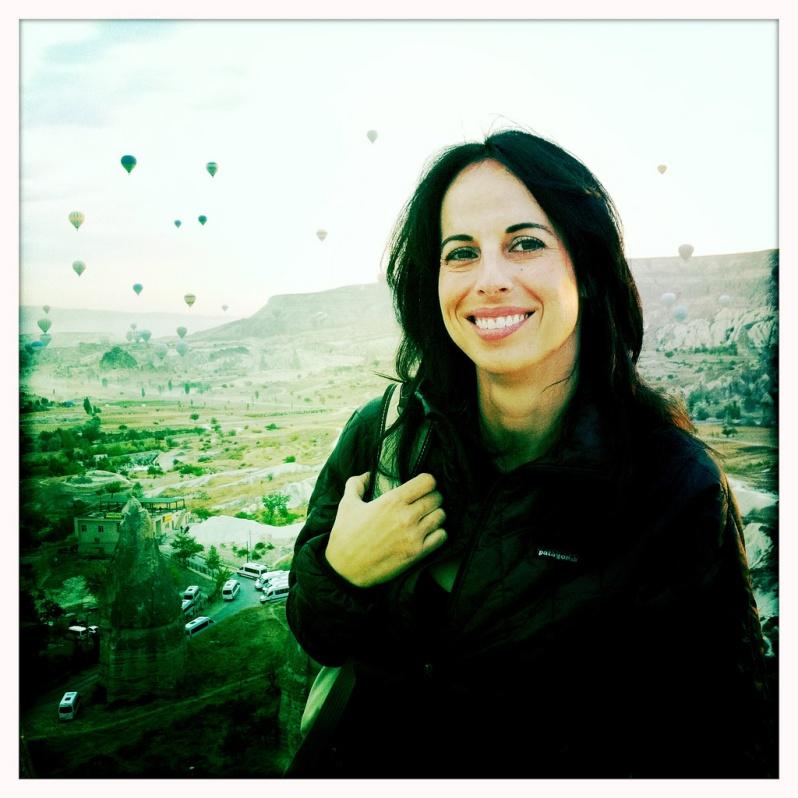 Marie in Cappadocia
