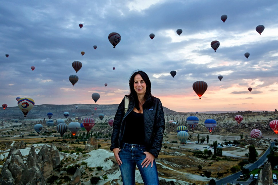 Marie in Goreme before Dawn
