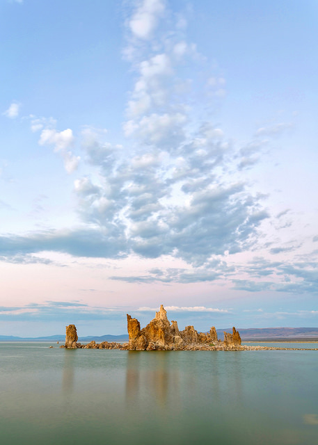 Post-sunset Light at Mono Lake