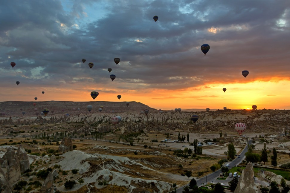 Sunrise over Goreme