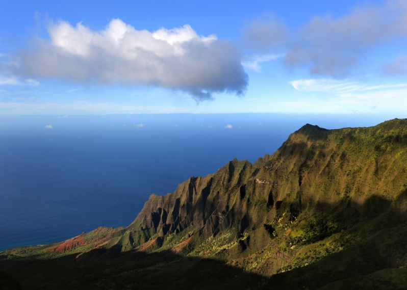 View from the Kalalau Overlook