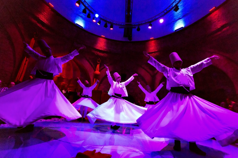 Whirling Dervishes in Istanbul