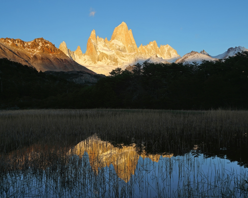 fitz-roy-sunrise-reflection-landscape